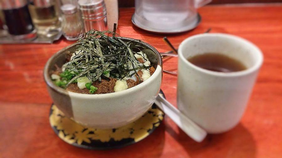 Rice with pork stew. Bankara Ramen SiamParagon Food Photography Japanese Food Foodlover LG G3 The Foodie - 2015 EyeEm Awards