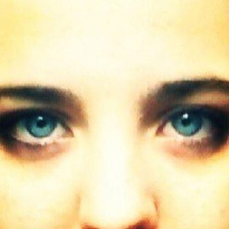 ShowingMyEyes Blue Eyes Eyebrows Bored