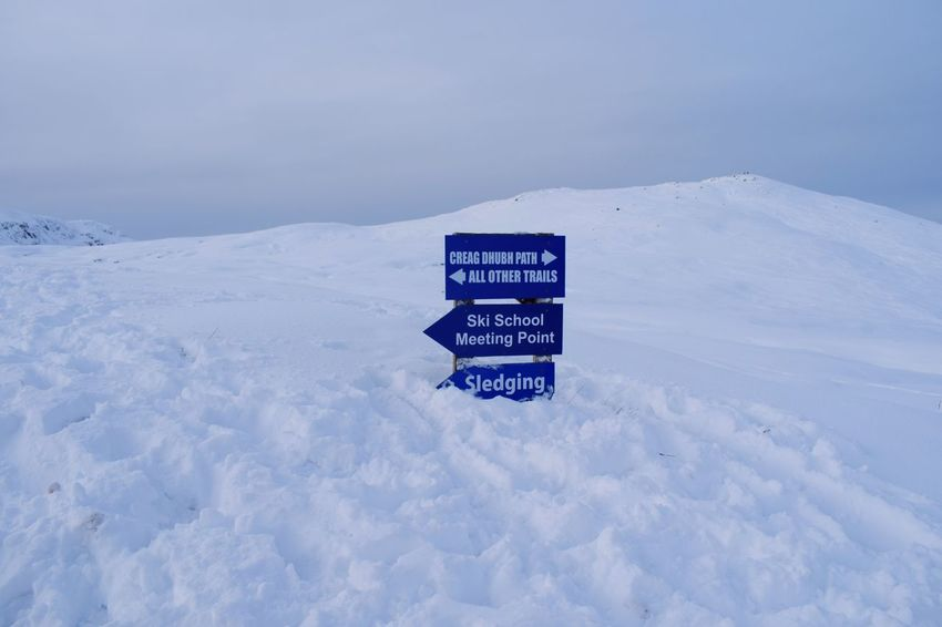 sledge-nds Scotland Loch  Glencoe Mountain Resort Glencoe Home Happy Love Ski Centre Glencoe Scotland Girlfriend Text Safety Snow Communication Tranquility Direction Guidance Road Sign Day Beauty In Nature Nature