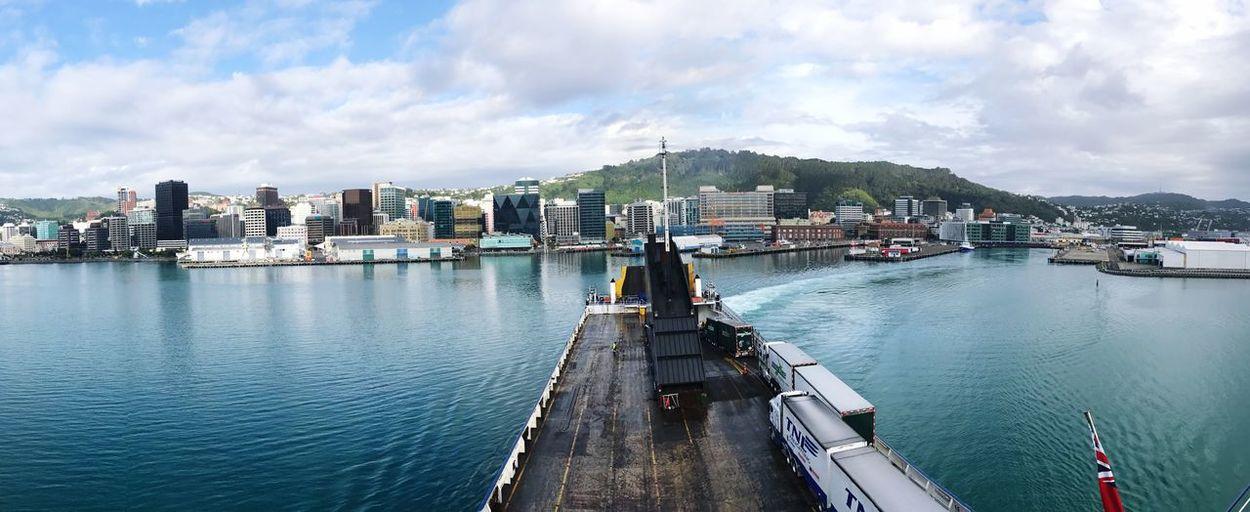 Panoramic View Of Dockyard