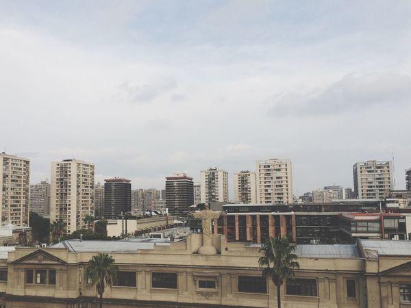 Enjoying The View Santiago Cityscapes