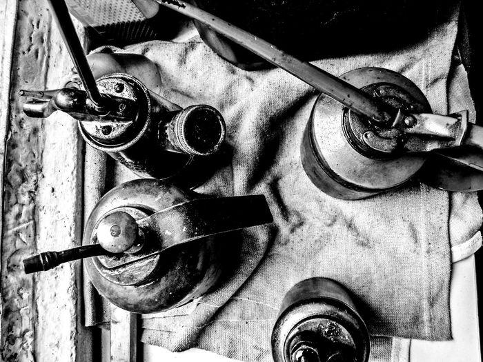 Bleisatz Buchdruck Close-up Day Font Handwerk Indoors  Industry Metal No People Old School Schrift Type Typo Vintage Werkstatt Workshop