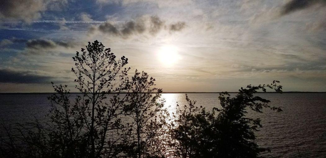 Lake Sunset Sun
