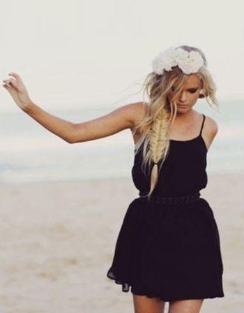 Fishtail plait . Dreaminqlove.tumblr.com Hairstyles Pretty Teengirl
