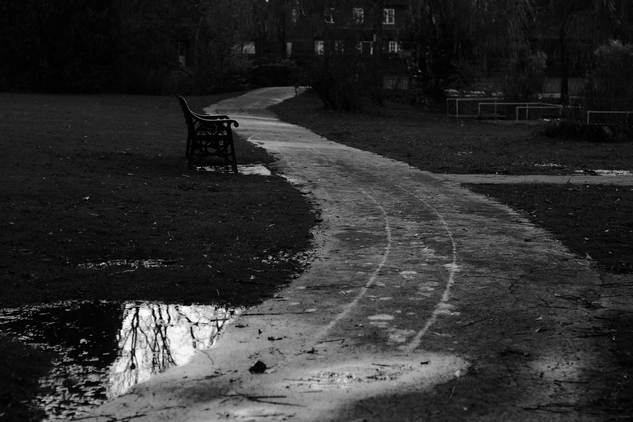 day, no people, outdoors, road, tree, architecture, water, nature, city, basketball - sport