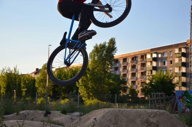 Bike acrobatics