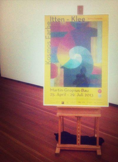 Exhibition Paul Klee Johannes Itten Kosmos Farbe