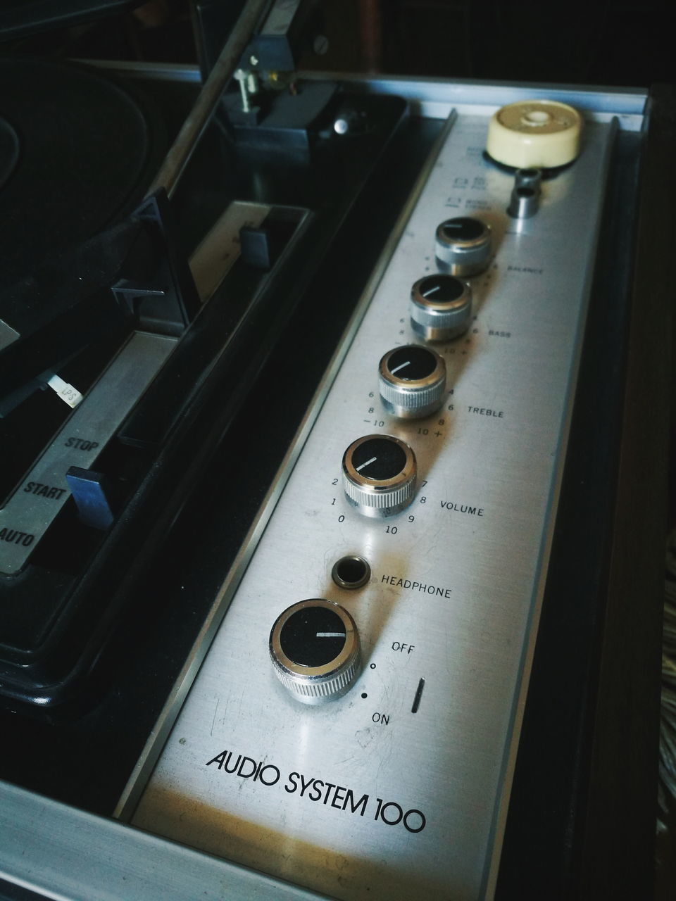 control, music, indoors, technology, sound mixer, arts culture and entertainment, knob, close-up, high angle view, no people, switch, sound recording equipment, control panel, musical instrument, recording studio, day