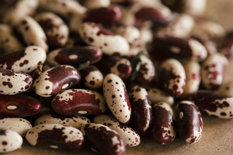 Beans Nature Seeds Food Healthy Eating Healthy Lifestyle Macro Pattern