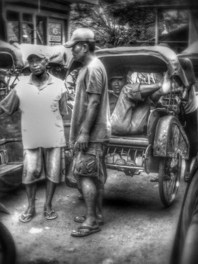 people are strange Monochrome EyeEm Indonesia Blackandwhite