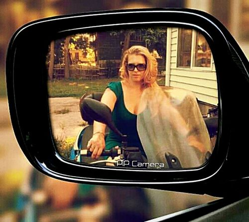The Photojournalist - 2016 EyeEm Awards The Portraitist - 2016 EyeEm Awards The Great Outdoors – 2016 EyeEm Awards Reflection_collection Woman On Bike Bike Ride Mirror Reflection