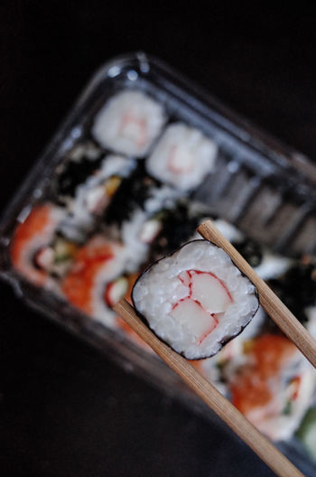 Chopsticks Close-up Culture Food Freshness Japanese  No People Ready-to-eat Sushi
