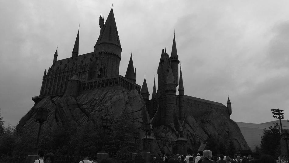 Hogwarts USJ In Osaka Hogwarts Castle Osaka,Japan Harry Potter ⚡