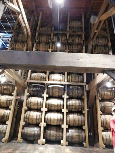 Tennessee Whiskey Jack Daniels Distillery Tour Barrels Aging Process