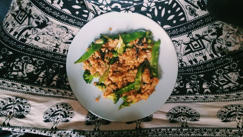 Teriyaki dinner yum! Homecooked Goodeats Organic Fashion Funky