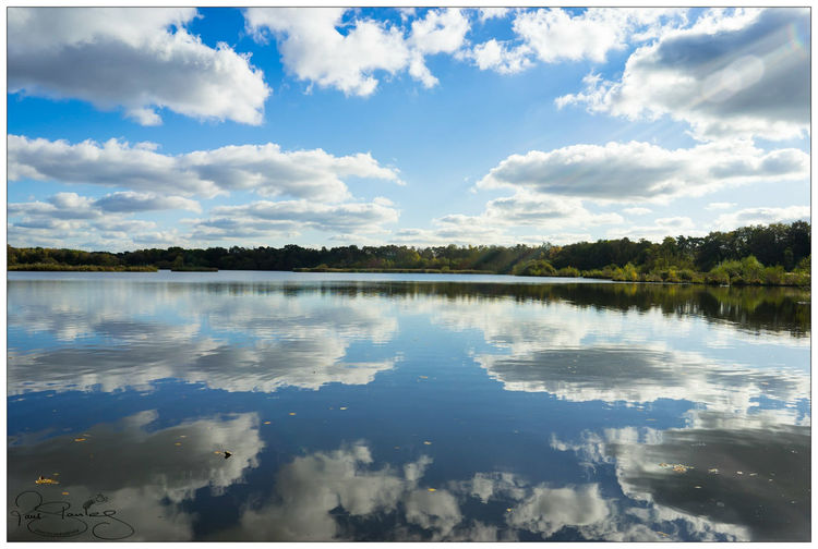reflective Fleet Fleet Pond Sunshine Bluesky Cloud - Sky Cloud Walking Around Walking Sony SONY A7ii Sonyalpha Sonyphotography A7m2 Sonyimages A7ii Autumn Mirror Beauty In Nature Tranquility Scenics Tranquil Scene Outdoors Day Landscape No People Blue Travel Destinations Symmetry