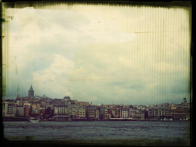 Summer Cloudy Bosphorus Citysights