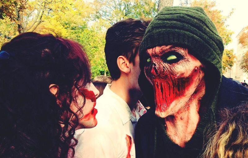 Zombie Zombieland Funny Bouh !