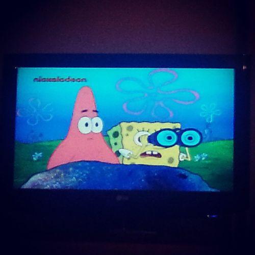 ✌ Spongebob  губкабоб  мультик  спокойнойночи