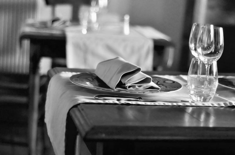 My Country In A Photo Eating Restaurant Nikon Blackandwhite Black And White OpenEdit Monochrome Table Michelin Star