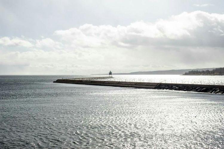 Lake Superior Minnesota Breakwall