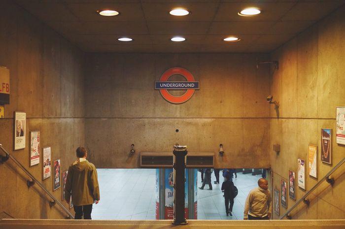 London Underground Tube Station  Westminster Subway