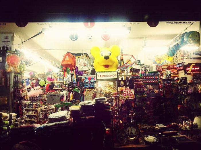 Strange Shops