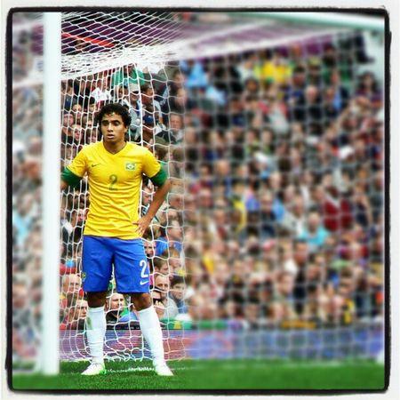Taken at Old Trafford, July 29. London2012 Brazil Olympics Rafael  Mufc