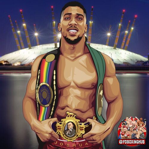 Quick image just done of #Anthonyjoshua @anthonyfjoshua can't wait for Saturday night! 😜👊