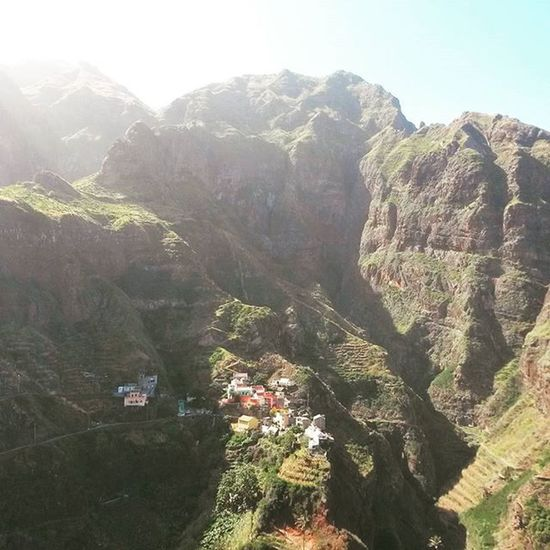 Today's hike and view. Caboverde Fontainha Awesomemountains