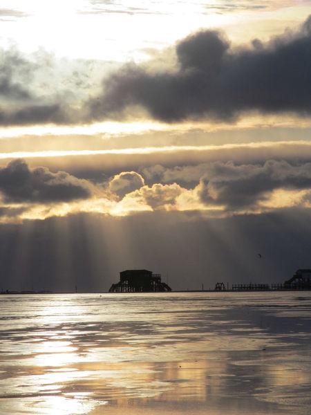 St. Peter-Ording Strand Wolken Himmel