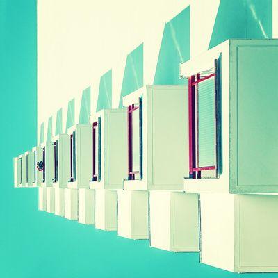 Ice cubes in the sun | Cubitos de hielo al sol Architecture Lookingup Balconies Enjoying Life
