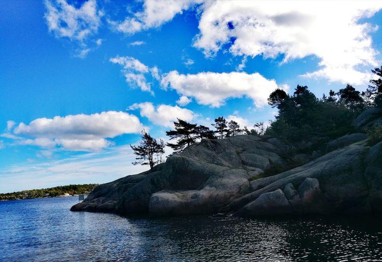 Rock Sky Sea