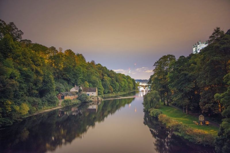 Shot into darkness Darkshoot Nightphotography Riverscapes Long Exposure Durhamcastle Durham Cathedral Durhamcity Cathedral Sigma 18-35 F1.8 River Nikonphotographer Nikonphotography Nikond7200 Trees