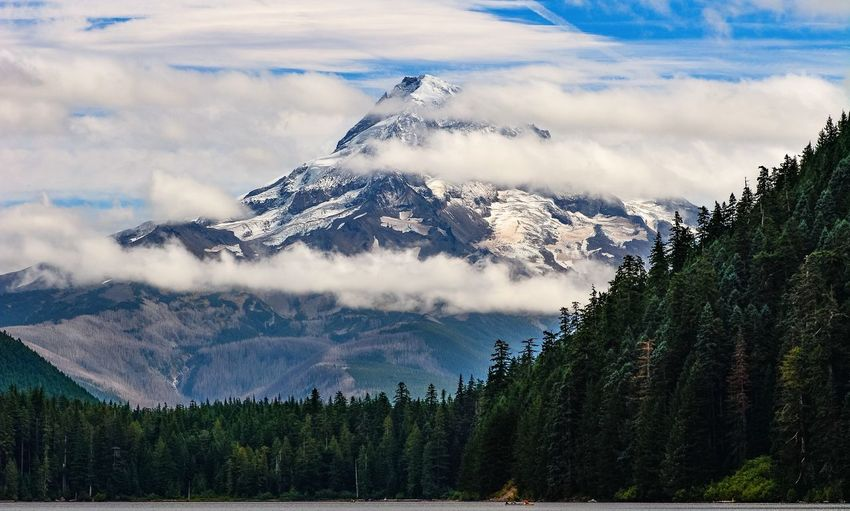 Mt Hood as seen from Lost Lake. Oregon Mountains Landscape Outdoors Traveling EyeEm Nature Lover Eyem Best Shots