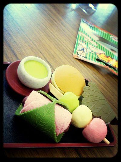 cute japanese scent eraser :D