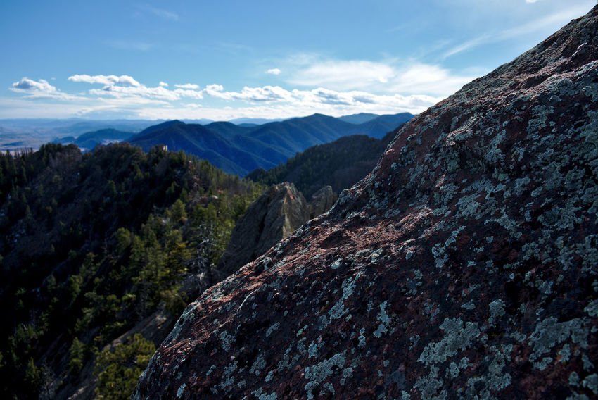 Colorado Flatirons Mountain View Bear Peak Beauty In Nature Boulder Boulder Colorado Day Focus On Foreground Landscape Meditative Mountain Mountain Life Mountain Range Nature No People On And On Outdoors Peak Range Summit View