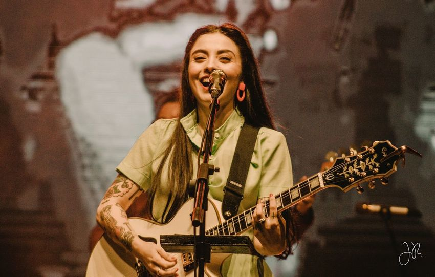 Mon Laferte Monlaferte Music Musical Instrument Playing Arts Culture And Entertainment One Person Musician Artist Real People Singing Guitar String Instrument