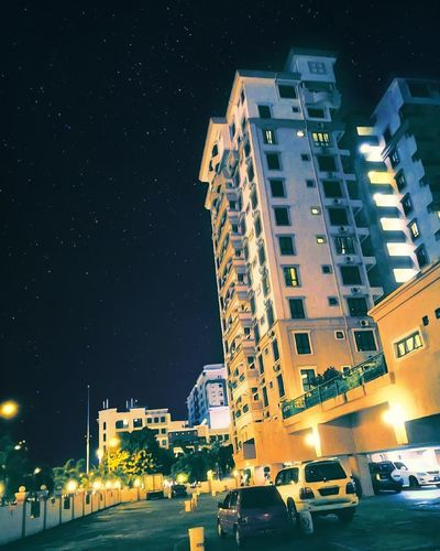 City Night Cityscape Building Exterior Skyscraper Business Finance And Industry Outdoors Urban Skyline Architecture No People Star - Space