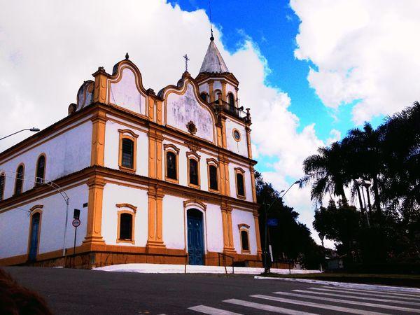 Santana do Parnaíba -SP Brazil Church Historical Building Beautiful Architecture City