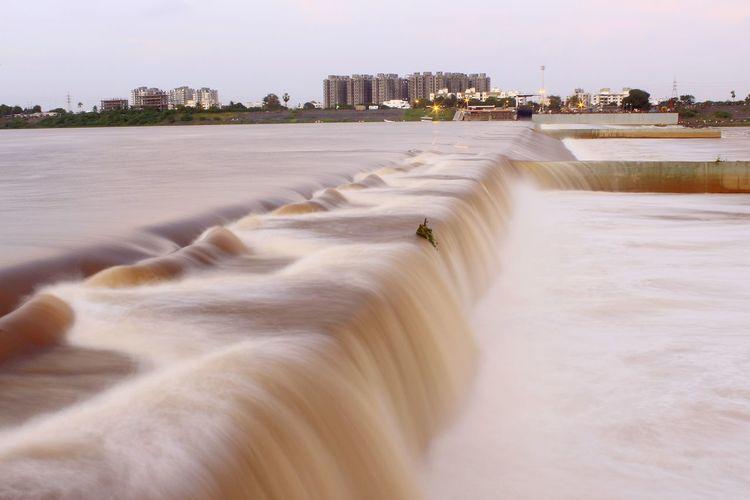 Tapi River Couseway Sunday Eve. Nature Photography Long Exposure