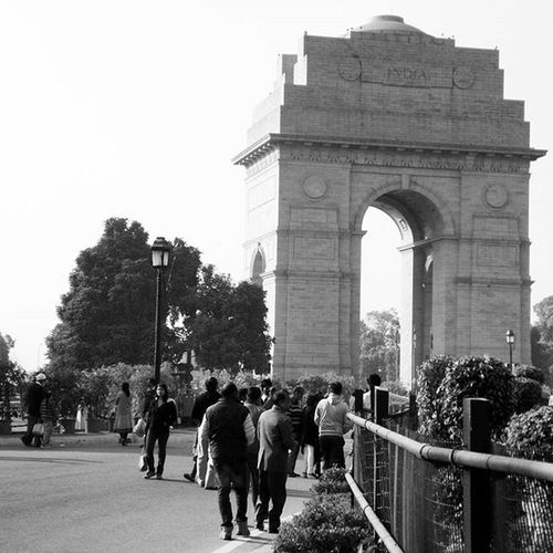 Indiagate Delhi Winters Pride Martyrs India B &w India Dilliwaala NCR Family Hangout