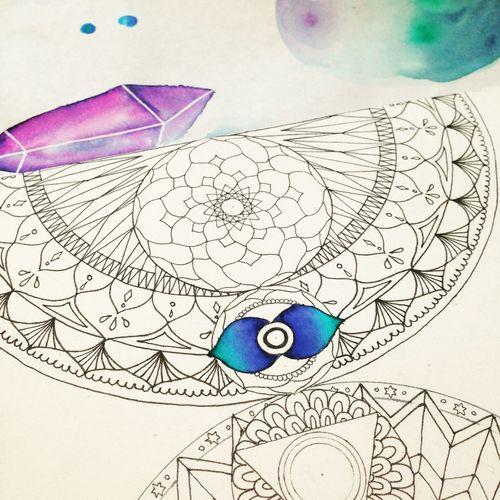 Art 曼荼羅 Mandala Drawing My Drawing Geometry My Art YohkoAmaterraArt