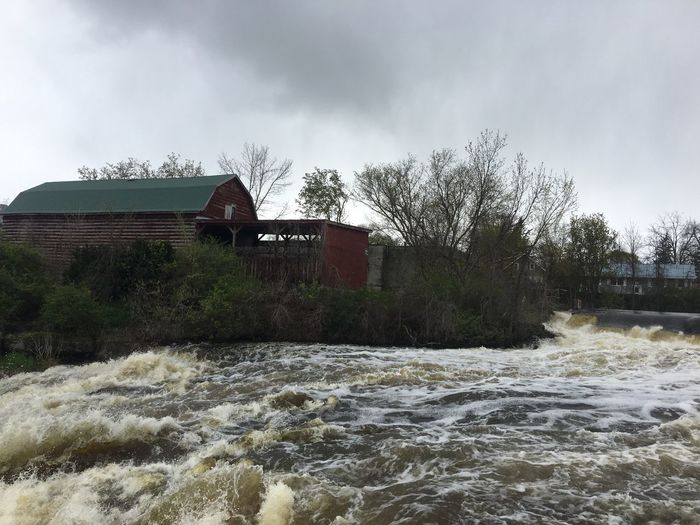 Water is rising - Spring Flooding