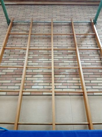climbing wall in a gym indoor sports center Gym Sports Center Climb Climbing Wall Brick Wall Sport Athletic Indoor Indoors  Industry Home Interior Home Improvement No People Close-up Architecture