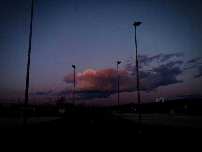 living the love 🌼🌻 ^.^ Beauty Sunset Panorama Feeld Feelinggood No People Night Outdoors Sky Nature