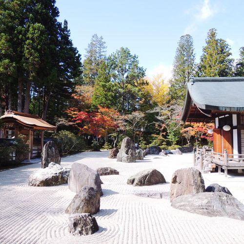 Zen garden in Wakayama, Japan Zen Wakayama Peaceful Zen Garden Silence Of Moment Moment Of Silence