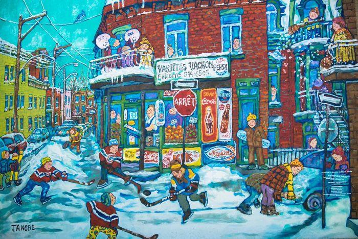 Streetphotography Streetart Hockey Montrealcanadiens