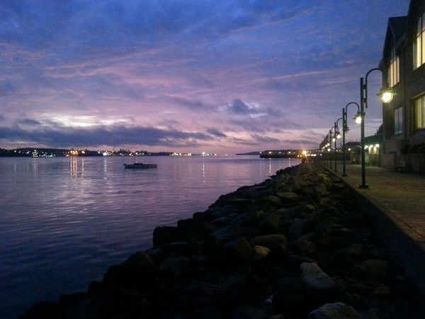 Sunrise in Halifax today.💟 Relaxing Day Skyporn Harbour Tranquil Scene Colourful Sky Scenics Outdoors Relaxing