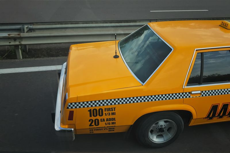 Yellow Taxi to